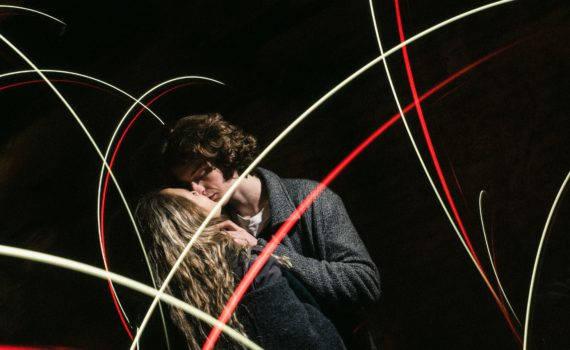 love story съемка ночью, фризлайт