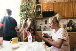 семейная домашная детская живая фотосессия переводная татуировка