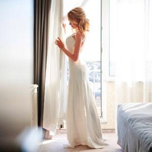 фотосессия невесты, ожидание