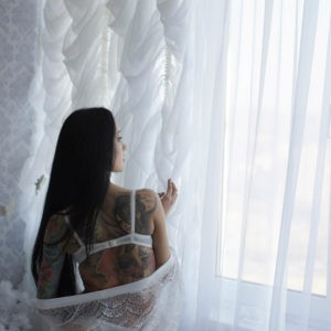 фотосессия, ожидание невесты