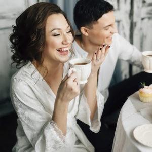фотосессия, завтрак