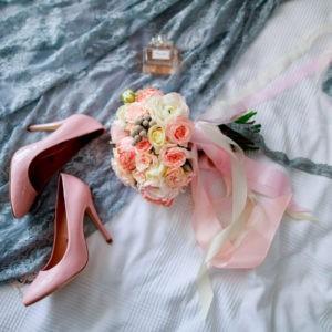подготовка невесты, детали образа