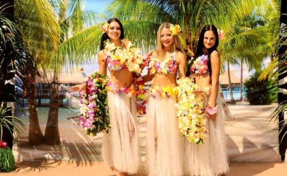 Гавайская фотосессия