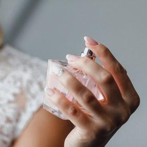 подготовка невесты, духи