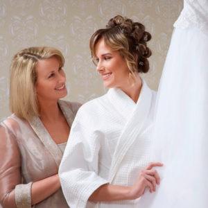 фотосессия перед свадьбой, с матерью