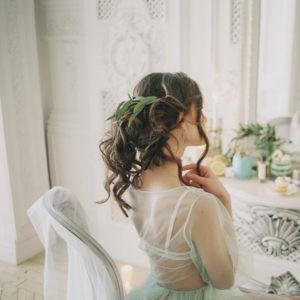 утро невесты, фотосессия завтрак