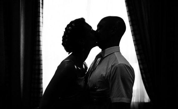 жених и невеста силуэты