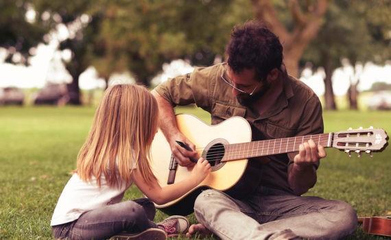 фотосессия с детьми, музыкальные инструменты