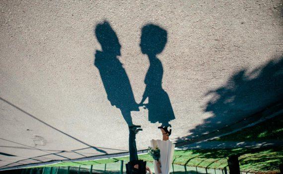 необычная фотосессия пары
