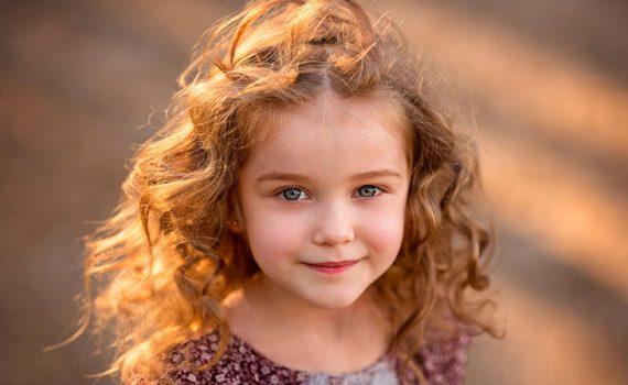 детская фотосессия, близкий ракурс
