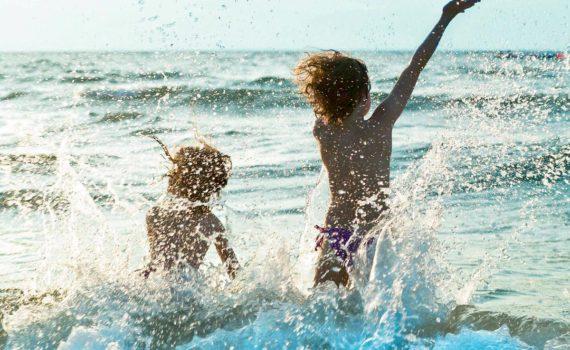 детская фотосессия на море