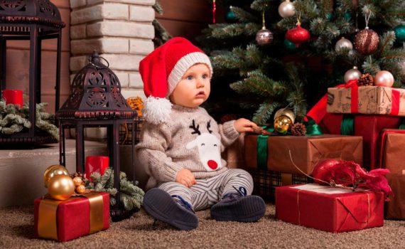детская фотосессия, новый год