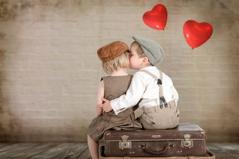 Дети любовь открытки