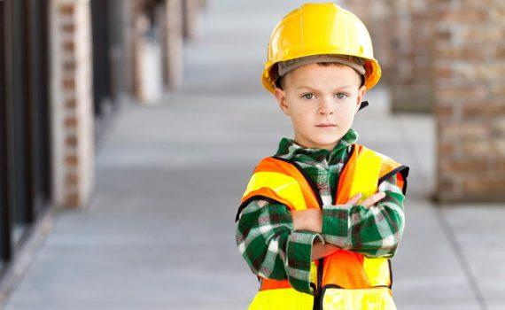 детская фотосессия, будущая профессия