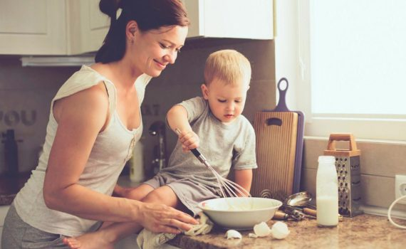 фотосессия с ребенком, поваренок
