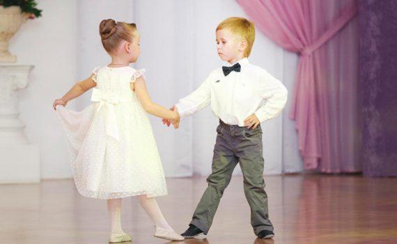 детская фотосессия, танец