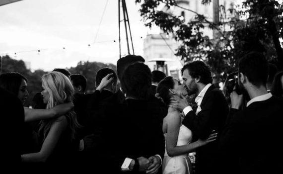 свадьба репортаж танцы ресторан на болотном