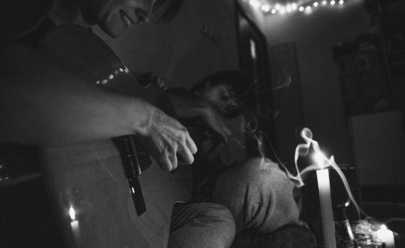 фотосессия ,романтика, гитара