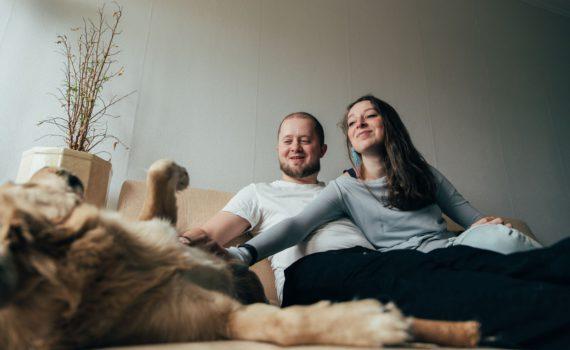 лав стори Аня и Марк