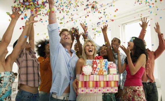 день рождения, празднование, вечеринка