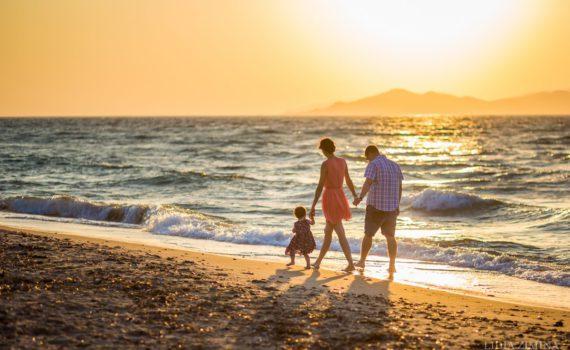 семейная фотосессия пляж