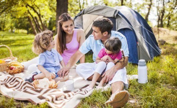семейная фотосессия, пикник