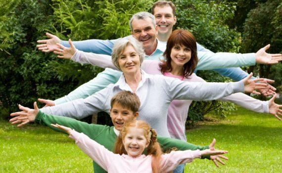 семейная фотосессия, поколения
