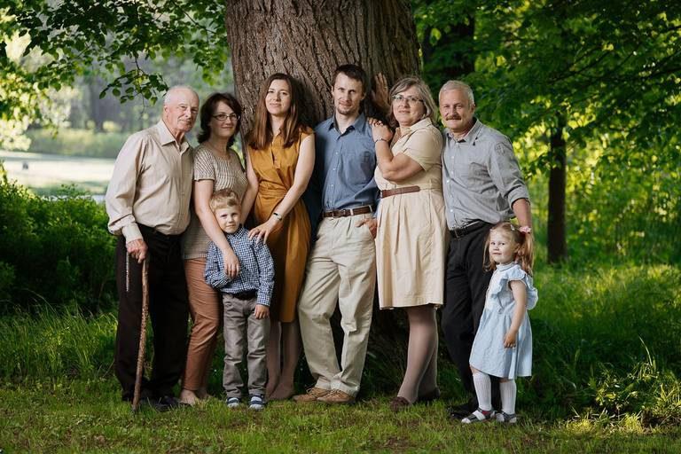 фото семьи фото усадьбе кусково