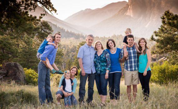 семейная фотосессия портрет