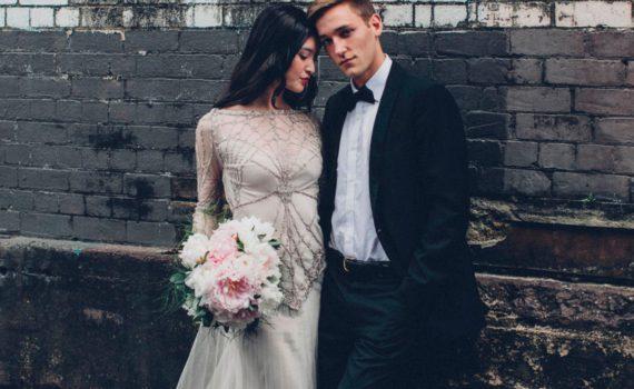 красивый фон для свадебной фотосессии летом