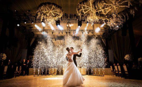 первый танец свадебная летняя фотосессия