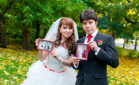 со свадебными фотографиями родителей свадебная фотосессия летом