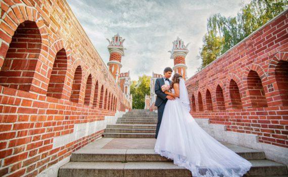 свадебная фотосессия у достопримечательностей