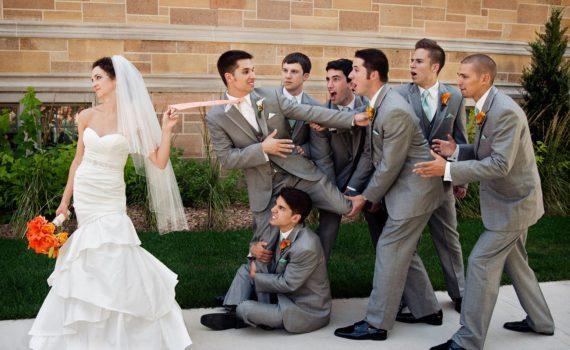 забавные фотографии свадебная фотосессия летом