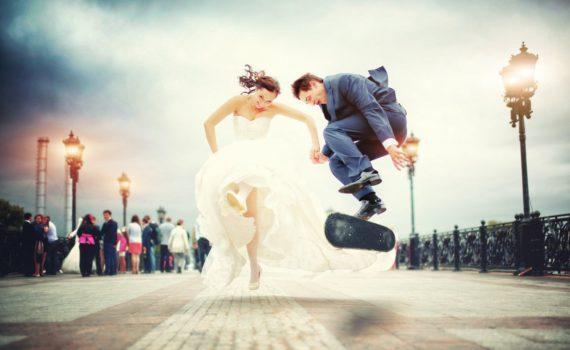 свадебная летняя фотосессия забавная фото