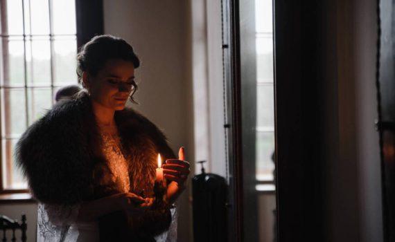 невеста со свечой