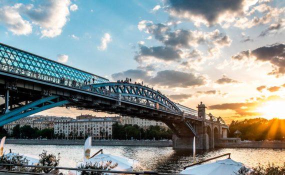 вид на андреевский мост