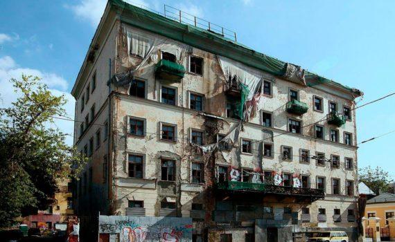 андроньевский проезд заброшенное здание