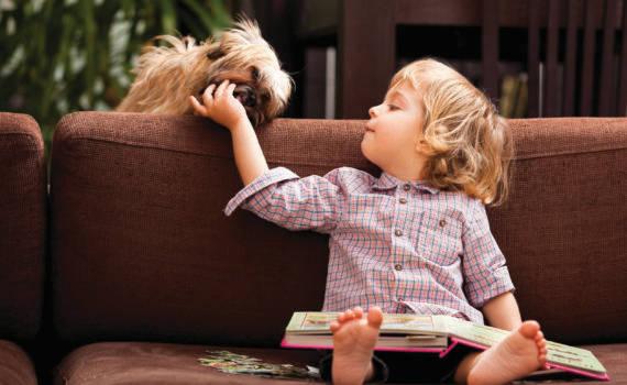 фотосессия годовалого ребенка в кресле дома
