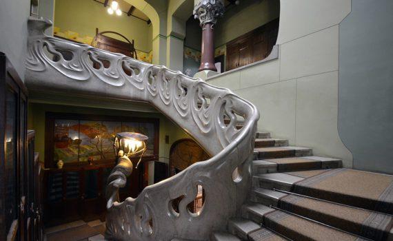 Лестницы Шехтеля
