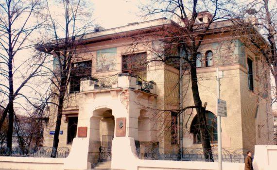 Лестницы Шехтеля дом