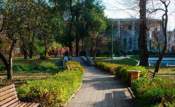 Парк им. Мандельштама мост