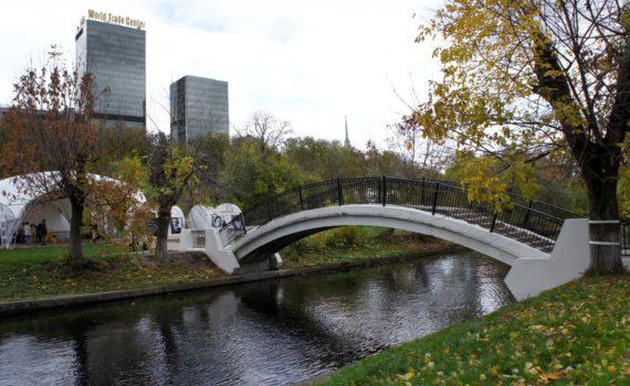 Парк Красная Пресня мост