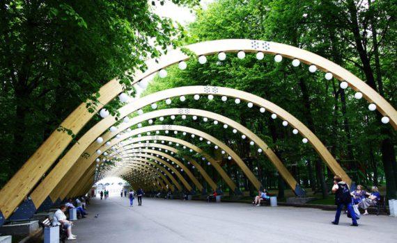 Парк Сокольники арка