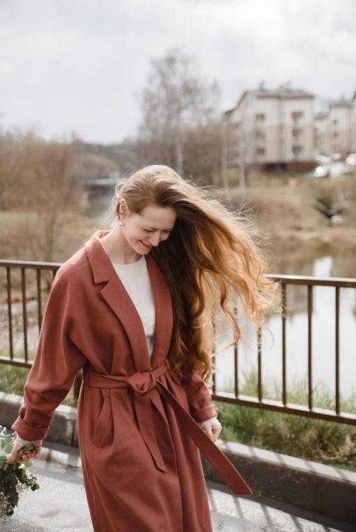 невеста волосы на ветру