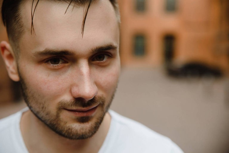 мужская фотоссесия в Москве на улице даниловская мануфактура